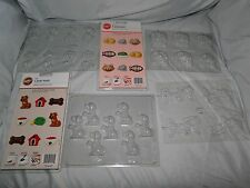 NEW VINTAGE DOG & CAT VARIETY CANDY MOLDS, U PICK FROM 6 DIFFERENT MOLDS