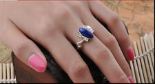 The Vampire Diaries Fashion Elena Gilbert Daylighting Ring Lapis Lazuli Ellipse