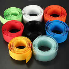 Flat 29.5MM Φ18.5MM 2M PVC Heat Shrink Tubing For Li-ion 18650 18500 Battery