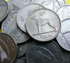 Irish Sixpence, One + Two Shillings, Half Crown Coins - Chose Your Year And Coin