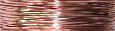 ROSE GOLD WIRE ~ Sterling Silver Plated Copper Wire 20 22 24 26 gauge