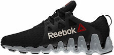 Reebok ZigTech Big N Fast ZIG BLACK GREY M43847 RUNNING SHOES 8.5 - 13