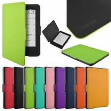 """PU Leather Case Folio Flip Cover for 2014 New Amazon Kindle 6"""" eReader 7th Gen"""