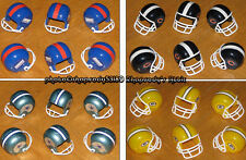 Mini Team Helmet Lots NFL football game party favors gum ball