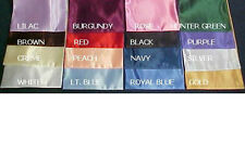 """Cal King size Bridal Satin Conventional FITTED SHEET ONLY 15"""" drop 72""""Wx84"""" L"""