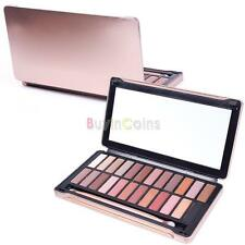 12 24 Color New Women Basics Palette Makeup Cosmetic Shades Eyeshadow Brush in