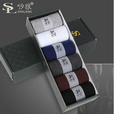 6Pairs/Lot 100% Cotton Winter business brand man sock sports Casual Men's socks
