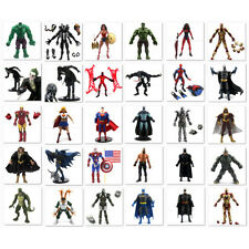 "6"" New Marvel Legends Dc Comics Hulk Batman Iron man Spider-man Universe Figure"