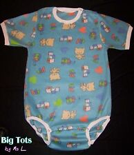 Adult Baby TOYS Fleece onesuit snap shoulder  *Big Tots by MsL*