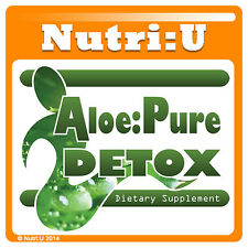 Amazing Aloe Vera Pure Colon Cleanse Detox System - Lose Weight Fast Slimming