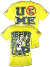 John Cena Yellow Ten Years Strong Kids T-shirt Boys
