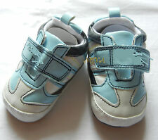 light Sky BLUE leisure BOY shoes toddler shoes baby BOY shoes US size1,2,3