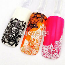 2014 New Fashion Charmi 3D Lace Sexy Nail Art Nail Decoration Sticker Decals