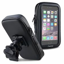 Waterproof Bike Bicycle Handlebar Mount Holder Case For iPhone 6 Galaxy S5 S4 S3