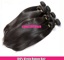 50g/Bundle Weave 100% Unprocessed Peruvian Human Hair Extension Weft Straight