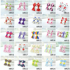 100PCS 50 Style Hair Clips For Bbay Children Girls Hair Bows Ribbon Accessories