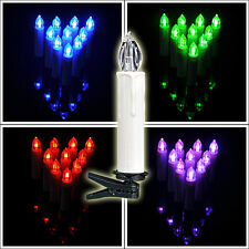 10pc Remote Control Birthday Wedding Tree LED Candles Light 3A Battery