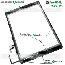 Lot Touch Screen Digitizer Replacement Apple iPad Black White With Home Button