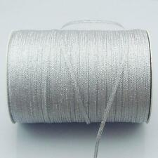 """880yards Quality gold/silver organza Glitter ribbons 1/8"""" 3mm"""