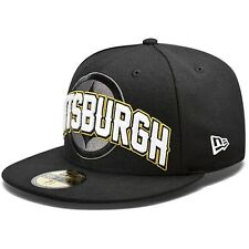 PITTSBURGH STEELERS NFL FOOTBALL NEW ERA 59FIFTY DRAFT DAY FITTED CAP HAT
