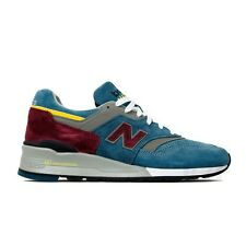 """New Balance Made in USA """"Connoisseur Painters"""" M997DTE (Teal/Grey) Men's Shoes"""