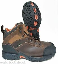 Danner Mens Safety Hiker Corvallis 17602 Waterproof Non Metallic Leather Brown