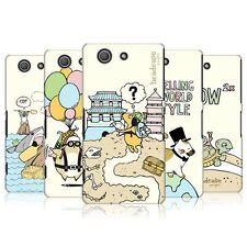 HEAD CASE WORLD TRAVELLERS SNAP-ON BACK COVER FOR SONY XPERIA Z3 COMPACT D5803