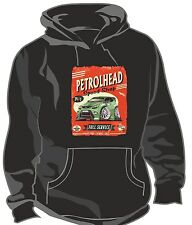 KOOLART PETROLHEAD SPEED SHOP GREEN FORD FOCUS RS 2.5t Unisex Hooded Top Hoodie