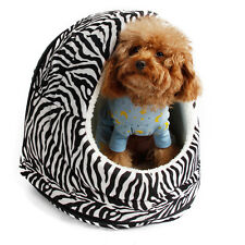 Pet Dog Bed Kennel Igloo House Puppy Dog Cat Removable Kennel Igloo House Beds