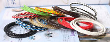 1pcs PU Leather Bracelet for Women Cuff Charm Bracelet & Bangle Magnet Clasp