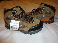 New Boys Team Realtree Camo Camouflage Hiking Boots Size 11 12  2  Lightweight