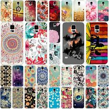 Hot Various Beauty Flower Pattern Phone Case Accessory For Samsung Galaxy S4 S5