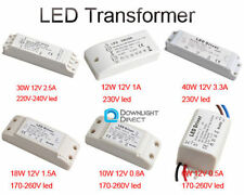 3W/6W/10W/12W/18W/30W/40W LED Driver Power Supply Transformer DC 12V MR16 MR11