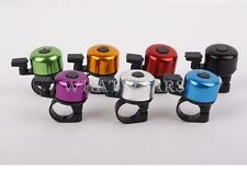 1x Mini Cycling Bike Bicycle Handlebar Aluminum alloy Bell Ring Loud Horn WFR