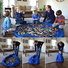 Storage Bag Toys Organizer Rug Box For Lego Dolls 158cm Portable Kids Play Mat #