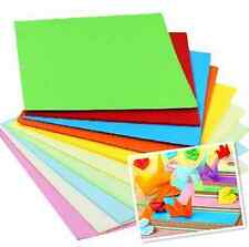 5/7/8/10/14.5cm Square Paper Pack Coloured  Double Sided Sheets Origami Paper