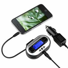All Channel Universal FM Transmitter w/UBS Port For Cellphone Mobile