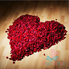 1000PCS Silk Rose Petals Favors Flower Scatters For Wedding Party Anniversary