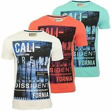 Dissident Mens T-Shirt 'Cali' Short Sleeved