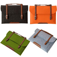 Laptop Woolen Carry Sleeve Bag Case Cover Skin for Lenovo Samsung Dell HP Sony