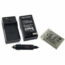 EN-EL5/CP1 Battery & Car Home Wall AC Charger For Nikon CoolPix 5900 7900 P5000