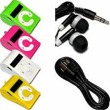 Whistle Generic MP3 Player Whistle 2GB 4GB 8GB up to 32GB Green Pink White