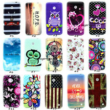 Fashion Hybrid Soft TPU Back Cover Skin Case For Nokia Lumia 630 635 636 638