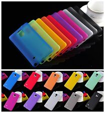 Ultra Thin Slim 0.3mm Transparent Crystal Clear PP Soft Case For Cell Phone Lot