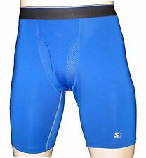 "Men's  Sports boxer brief inseam 9""/Blue/ compression underwear/A"