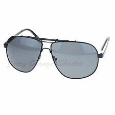 Mens Designer Fashion Sunglasses Metal Square Aviators