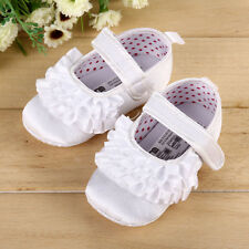 Infant baby toddler Christening shoes soft bottom shoes slip dots 0-12 Months