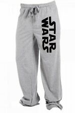 STAR WARS Logo Men's Heather Gray LOUNGE/ SLEEP PANTS