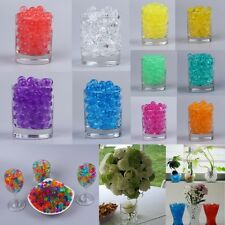 Water Beads Aqua Crystal Soil Bio Gel Ball Wedding Vase Filler Centerpiece Decor