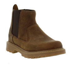 Caterpillar Boots Genuine Drysdale Chelsea Leather Boots Mens Sizes UK 6 - 12